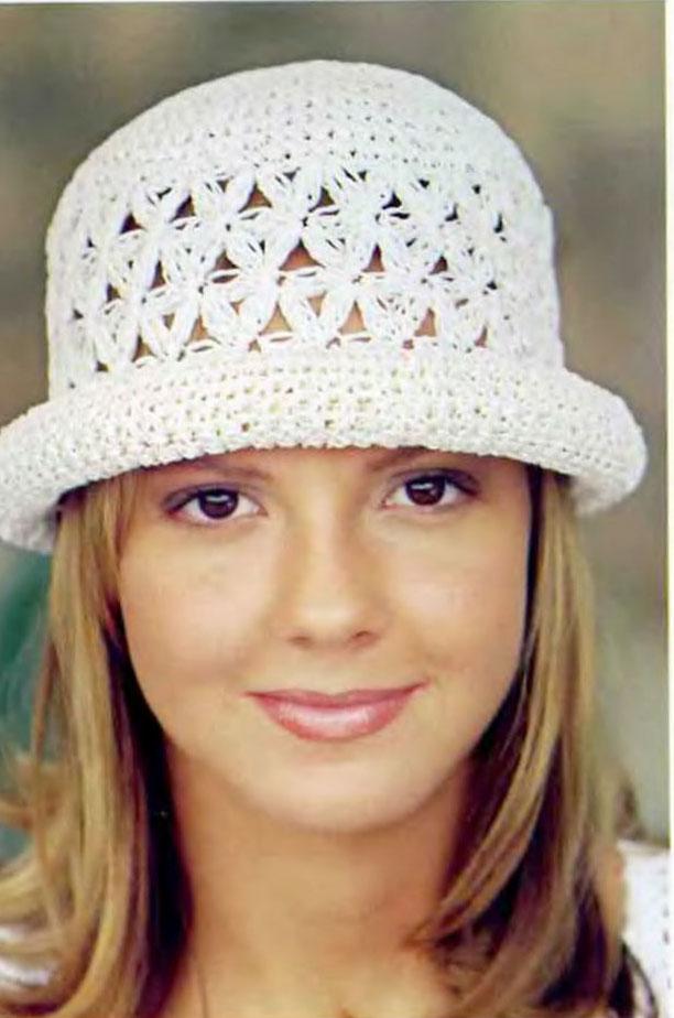 Вязание крючком-летняя шляпка+